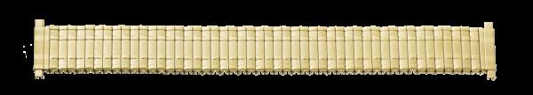 Edelstahlzugband vergoldet mit Teleskop-Anstoß 0175
