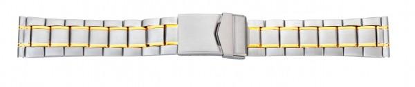 Edelstahlverschlussband bicolor 083