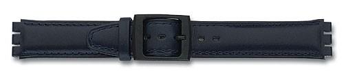 Lederband mit Spezialansatz dunkelblau 308