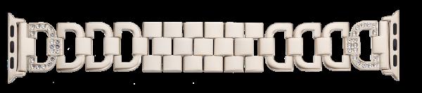 Edelstahl-Schmuckband passend für alle Apple Watch Modelle AP13-14