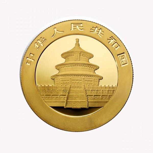 1 oz China Panda Goldmünze - 500 Yuan China