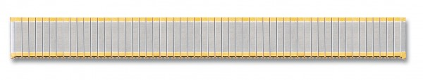 Edelstahlzugband bicolor 023