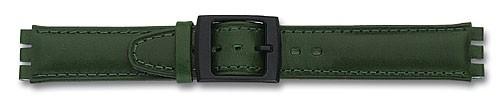 Lederband mit Spezialansatz grün 309