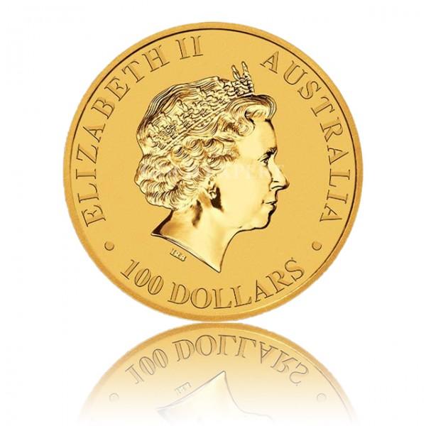1 oz Australian Kangaroo Goldmünze - 100 Dollars Australien