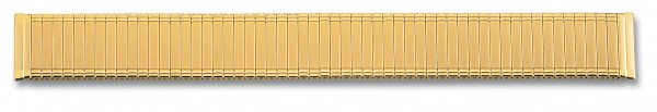 Edelstahlzugband PVD-vergoldet 026