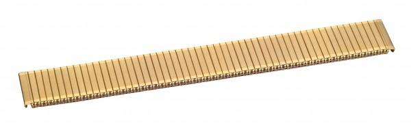 Edelstahlzugband PVD-vergoldet 005