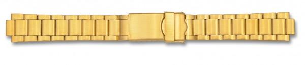 Edelstahlverschlussband vergoldet 006