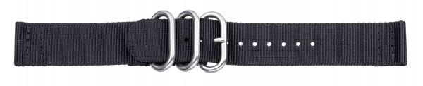 Zulu-Band schwarz 0417