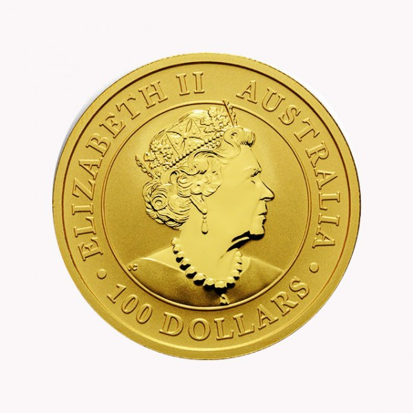 1 oz Australian Kangaroo Goldmünze - 100 Dollars