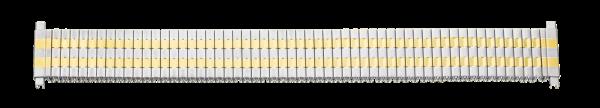 Edelstahlzugband bicolor mit Teleskop-Anstoß 0171