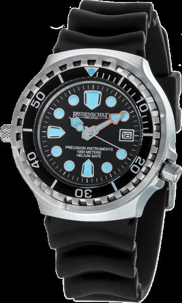 Riedenschild Herrenuhr 1000M Kampfschwimmer Black Watch Armee Taucheruhr Datum RS9000-01